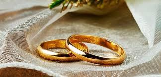 Los anillos de boda
