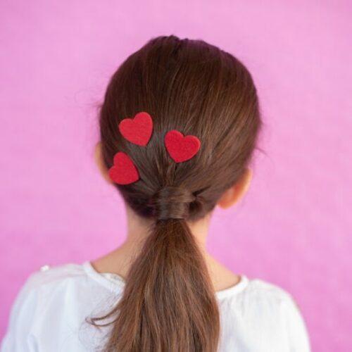Horquillas en forma de corazón
