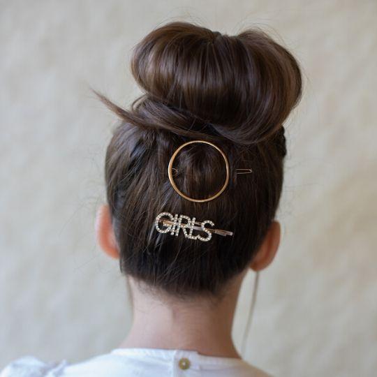 peinado horquillas joya