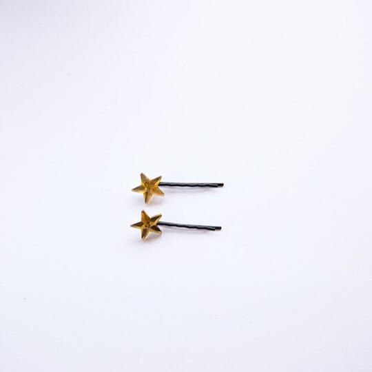 Horquillas de estrella amarillas