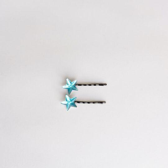 Horquillas de estrella en color azul