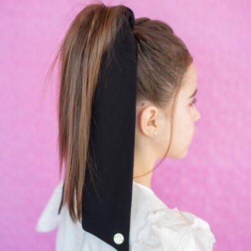 Pañuelo para el pelo en color negro