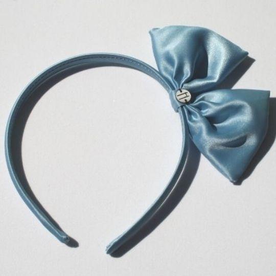 Diadema azul bebe