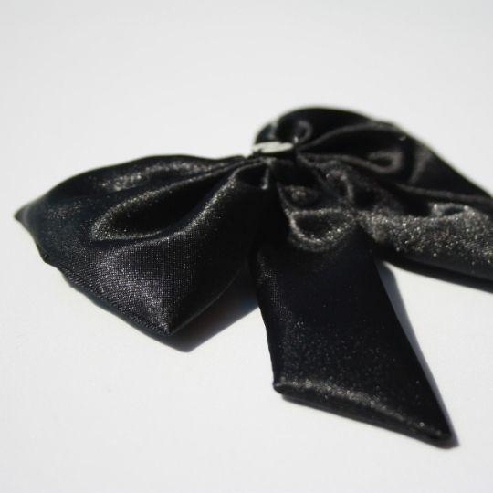 Lazo negro raso