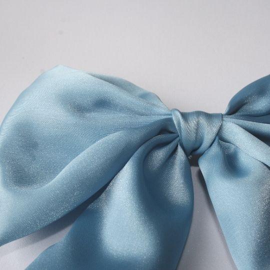 Lazo raso azul