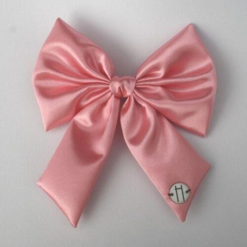 Lazo raso rosa
